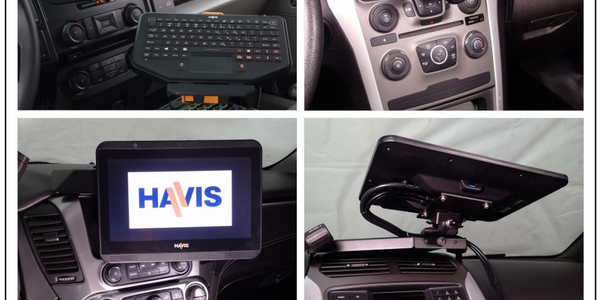 New Lightweight Havis Touch Screen Display to be Introduced at the 2016 Police Security Expo