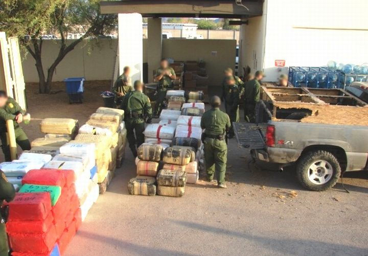 Border Patrol Seizes $2.3 Million In Pot