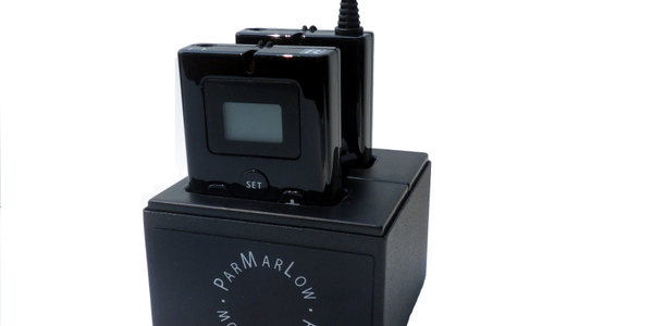 The Parmarlow WIS-200 System includes the wireless receiver and transmitter units and a dual...