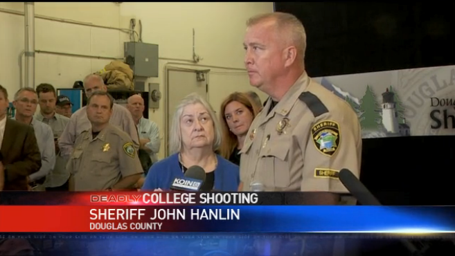 Video: Sheriff Revises Casualty Count in Oregon College Shooting, Refuses to Name Shooter
