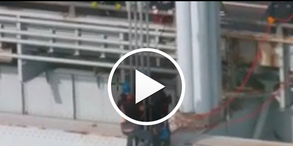 Video: Police Save Would-be NYC Bridge Jumper