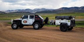 The Warrior Jeep Team takes on the Trans-America Trail, Copernio to Provide PR Support
