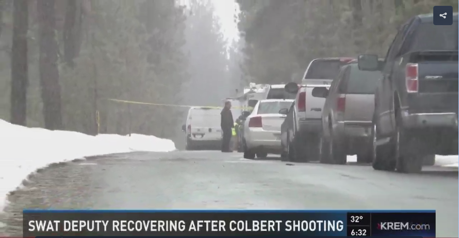 Video: Washington SWAT Sergeant Wounded in Standoff, Suspect Killed