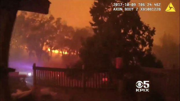 Video: CA Deputies Rescue Disabled Woman from Wildfire