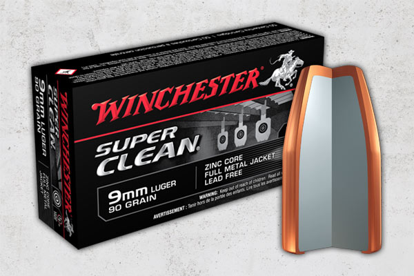 Winchester Super Clean Adds Two New Lead-Free Handgun Offerings in 2016