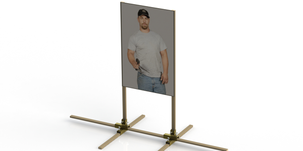 Range Systems Debuts Quik Stand Paper Target Holder