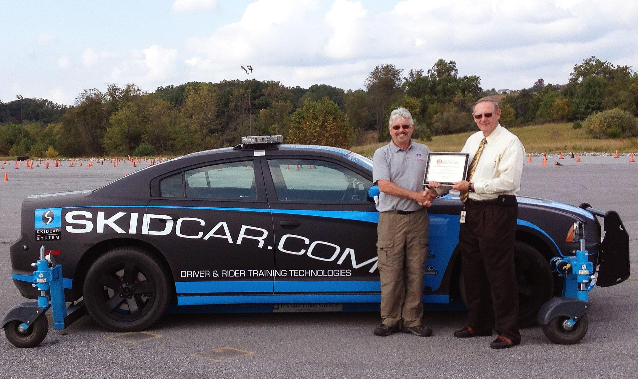 SkidCar System Inc. Receives Award from ALERT International