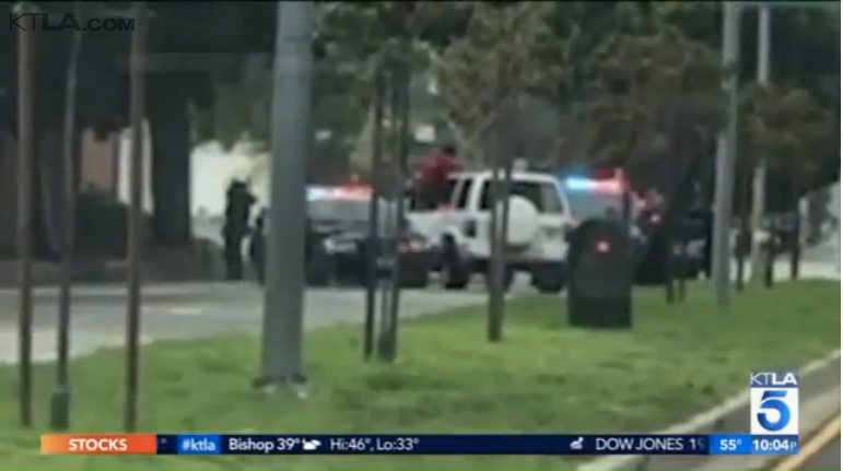 Video: CA Man Wanted for Threatening People with Hatchet Killed by Police After Vehicle Pursuit