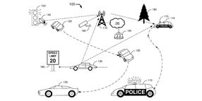 Ford Files a Patent for an Autonomous Police Car