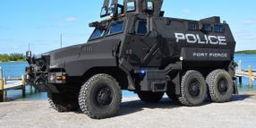 Florida SWAT Team Receives MRAP Vehicle from Defense Department