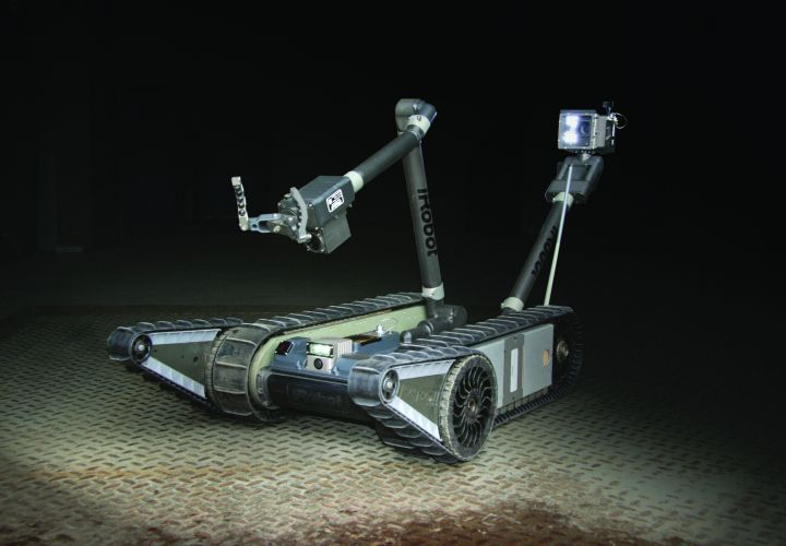 Tactical Robots Used In Japanese Nuclear Crisis