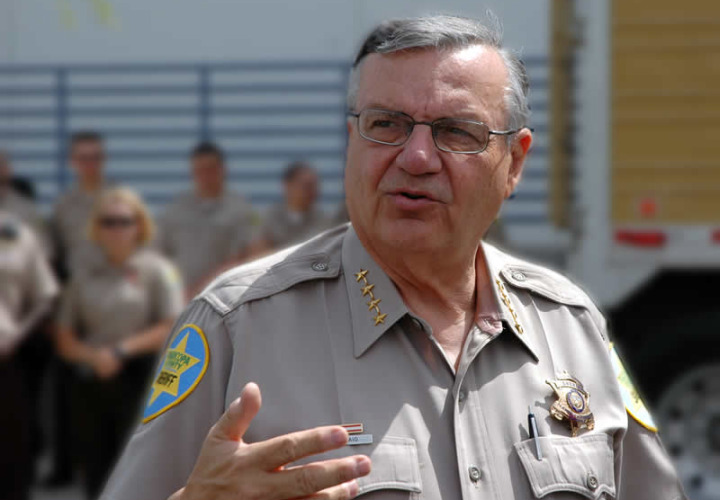 Sheriff Arpaio Loses Federal Immigration Enforcement Powers