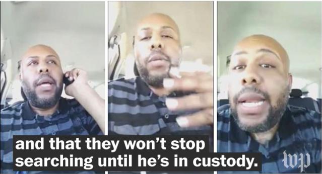 Video: Nationwide Manhunt Under Way for Suspect in Facebook Homicide