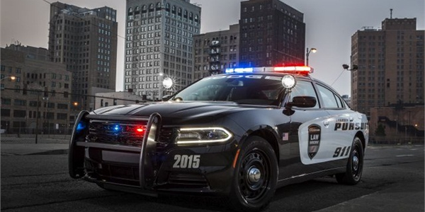 The 2015 Dodge Charger Pursuit features sleeker styling and improvements in the cockpit. (Photo:...