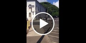 Video: Maui Mayoral Candidate TASERed in Foot Chase
