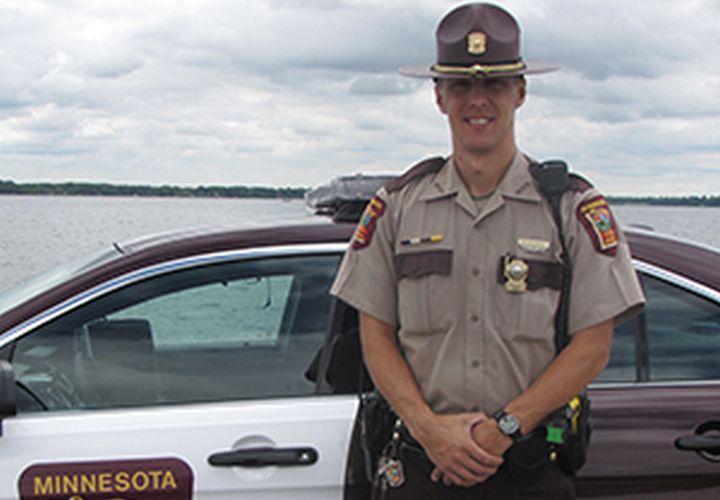 Minnesota Trooper Named NLEOMF Officer of the Month