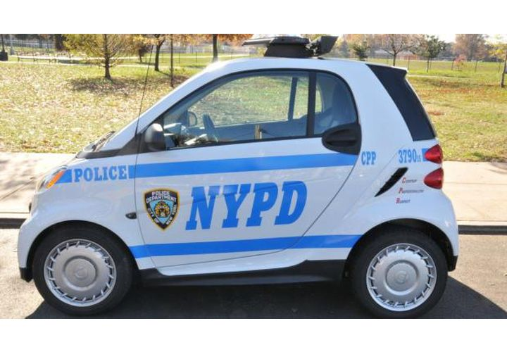 NYPD Wants to Replace its Scooter Fleet with Smart Cars