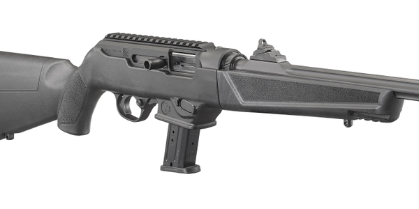 Ruger's new 9mm PC Carbine accepts Ruger and Glock magazines. (Photo: Ruger)