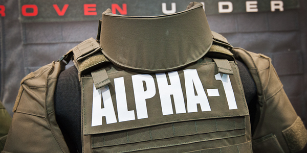 Point Blank's new Alpha-1 tactical armor disassembles and reassembles without wires. (Photo:...