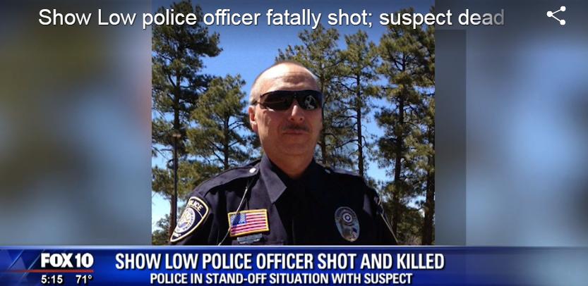 Video: AZ Officer Shot Tuesday Dies, Suspect Killed in Standoff