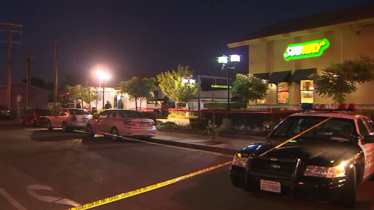 California Officers Shoot Man Holding Hostages at Subway Restaurant