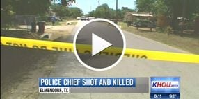 Video: Texas Police Chief Shot, Killed on Traffic Stop
