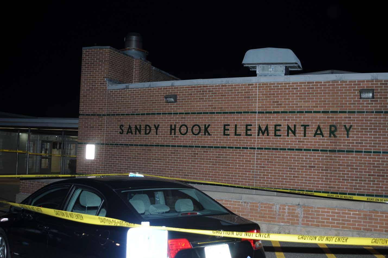 Sandy Hook School Shooting Crime Scene Photos