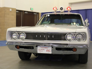 The Pasadena (Calif.) PD used an all-white 1968 Dodge Coronet with only the city seal on the...