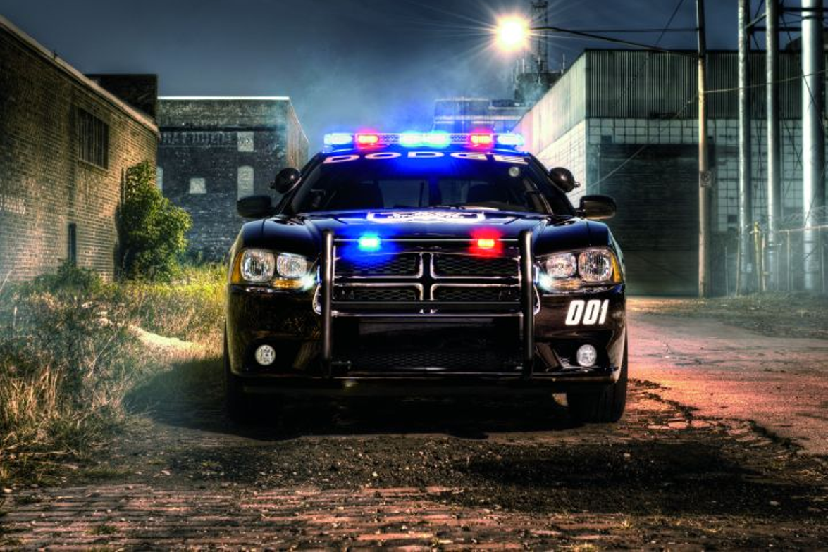 The 3.6-liter Pentastar engine is expected to offer 290 hp for the six-cylinder police Charger....