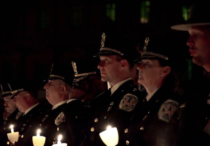 Police Week 2012: Candlelight Vigil