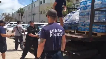 Miami Officers Volunteer to Assist Police in Storm-Ravaged Key West