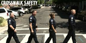"""Phoenix Police Launch """"Rock the Crosswalk"""" Campaign to Reduce Pedestrian Traffic Incidents"""