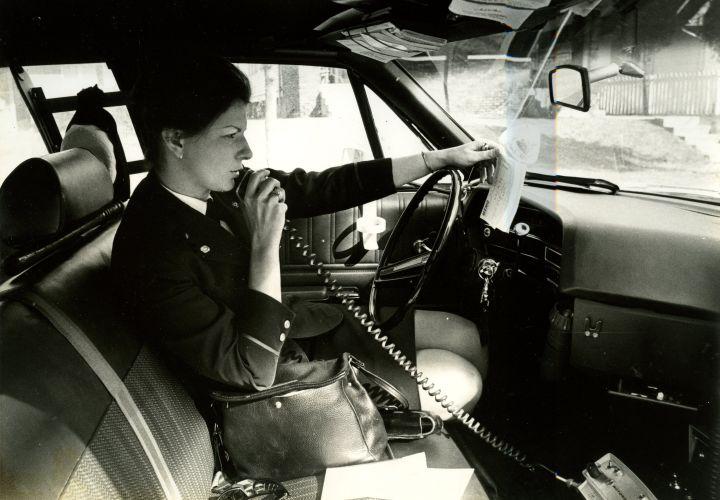 First Female Radio Car Cops