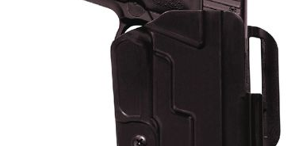 5.11's Revolution Holster is a secure level 1 retention holster, producing an audible click as...