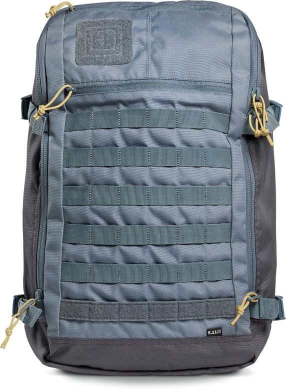 5.11 Tactical Rapid Quad Zip Pack: With a 270-degree u-zip main compartment, this pack is all...