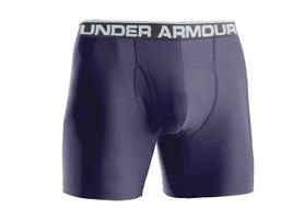 Under Armour'sOriginal UA 6-inch Boxerjock stretches, recovers, stays put, wicks sweat, keeps...