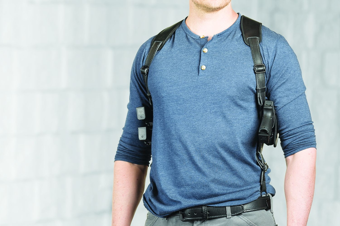 Alien Gear Holsters has added a modular shoulder holster to its growing ShapeShift Modular...