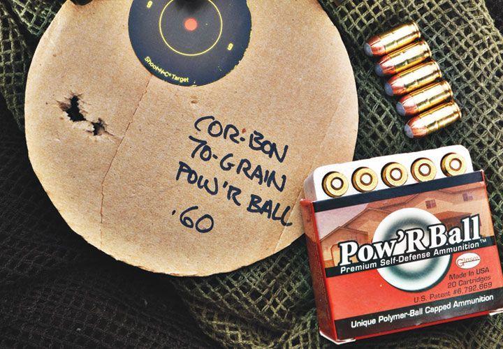Dakota Ammo's Cor-Bon Pow'RBall: Cor-Bon Pow'RBall was originally designed to eliminate feeding...