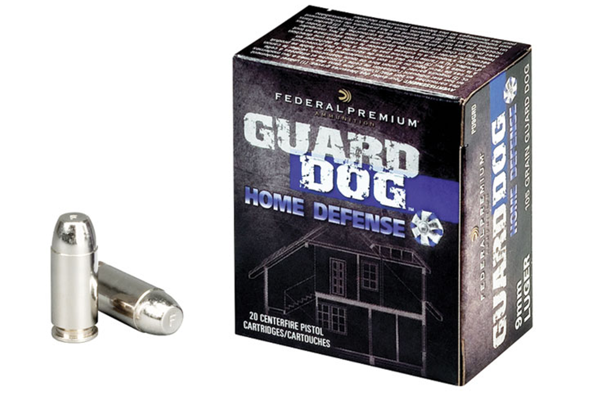 ATK's Federal Premium Guard Dog Home Defense rounds are also suited to law enforcement because...