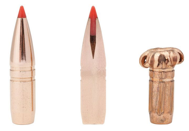 Hornady 308 Win. 165-Grain GMX TAP Barrier: Hornady's TAP Barrier turns cover into concealment....