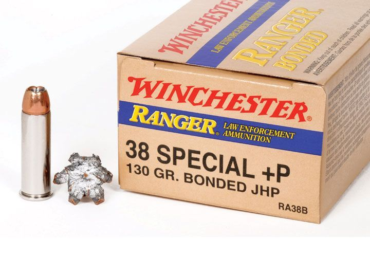 Winchester Ranger: The New Winchester Ranger 38 Special +P 130gr. JHP Bonded round offers a...