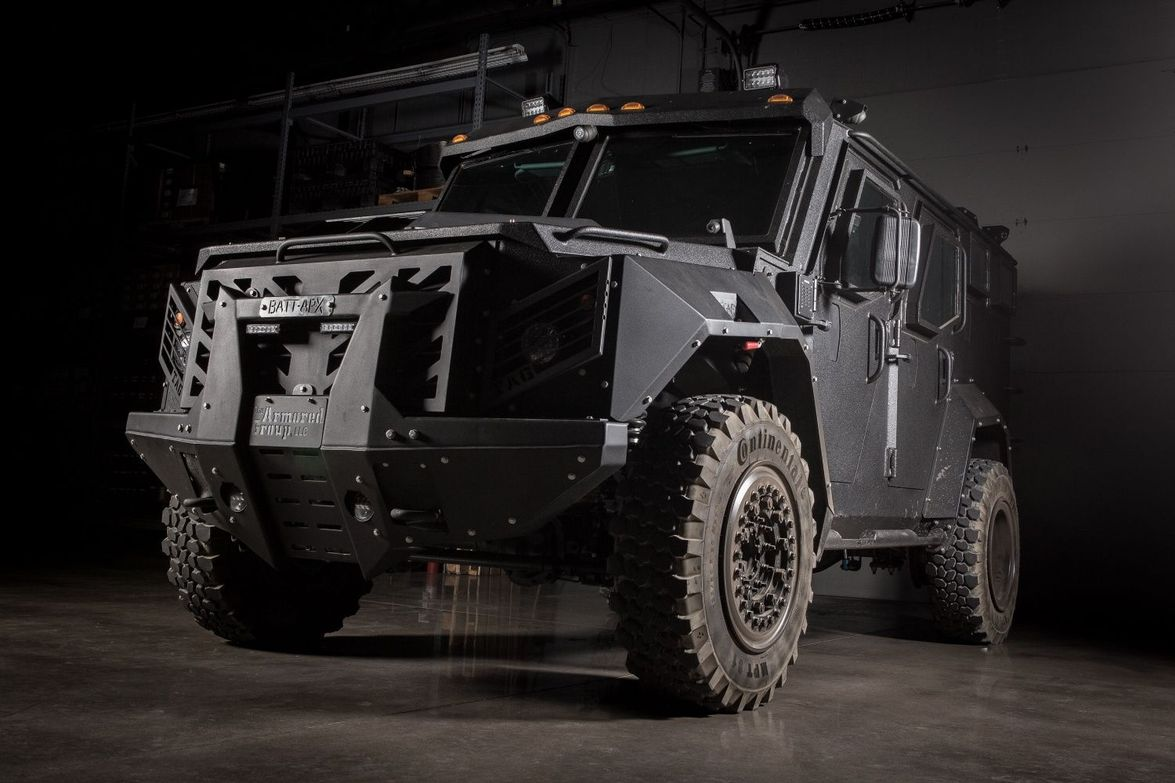 The Armored Group (TAG) BATT-APX is a fully modular armored rescue vehicle that can be built on...