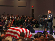 """Bardstown Police Chief Rick McCubbin said Ellis """"paid the ultimate sacrifice doing what he..."""