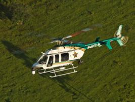 The Orange County (Fla.) Sheriff's Office uses Bell's four-blade, single-engine 407 LongRanger...