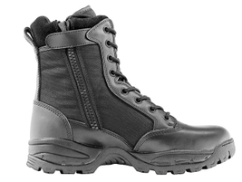 Maelstrom's Tac Force 8-inch tactical zipper boot is waterproof, polish-able, and designed to...