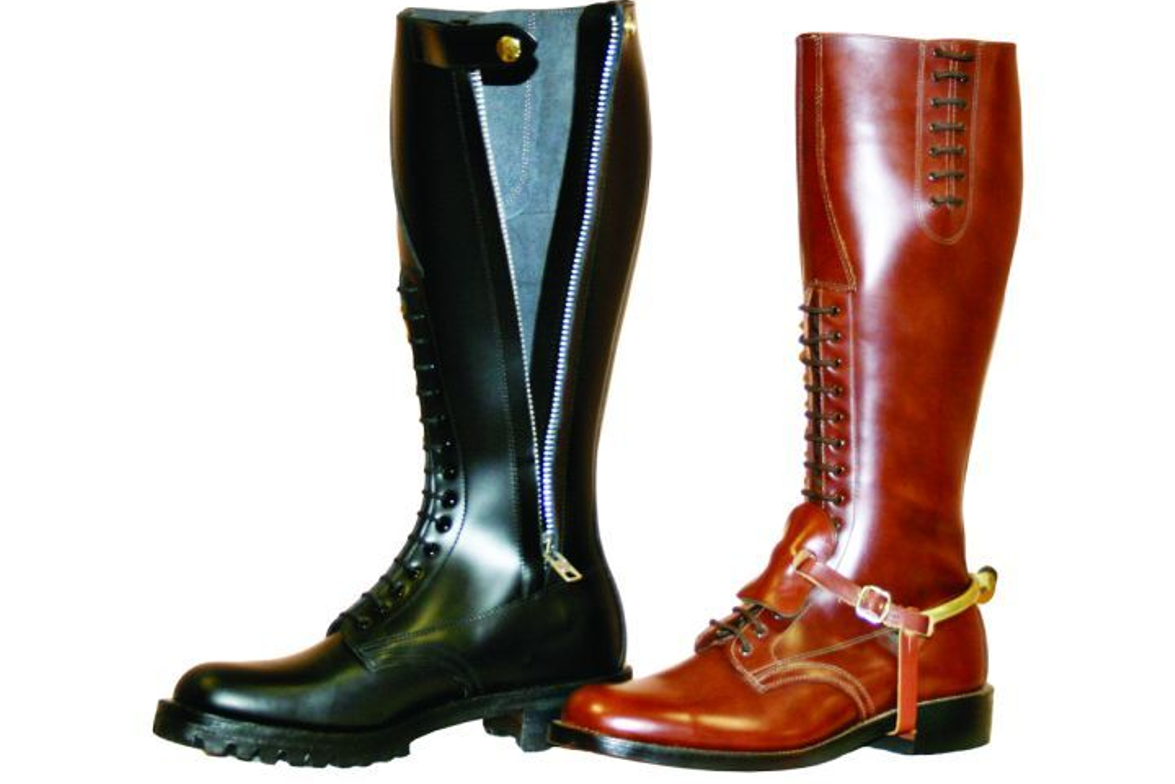 The official manufacturer of the RCMP Strathcona boot, Alberta Boot Co. also makes different...