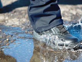 First Tactical's 8-inch Waterproof Side Zip Duty Boots feature a waterproof, membrane-lined...