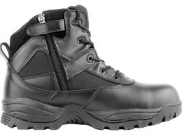 Maelstrom's P1360Z WP, also known as the company's Patrol 6-inch black waterproof side zip boot,...