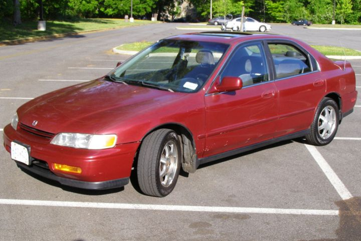 Hot Wheels, No. 1: Honda offered its 1994 Accord in a coupe and sedan with a four-cylinder...