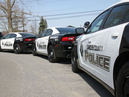The Camden County PD repurposed city Dodge Chargers, which were repainted with the new patch and...